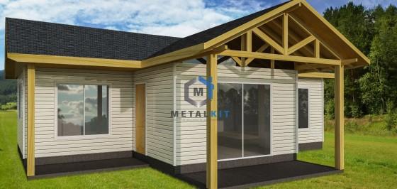 Casas Prefabricadas Metalcon Metalkit 65m2.