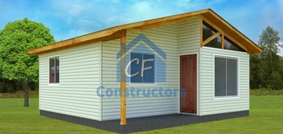 Modelo Casa 36m²