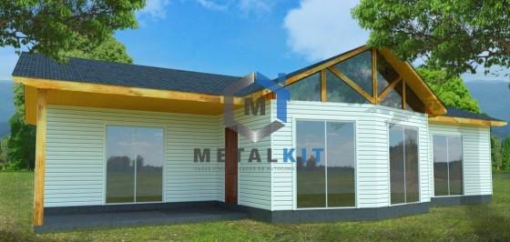 Casas Prefabricadas Metalcon Metalkit 94m2.