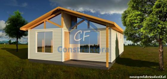 Modelo Casa 54m²
