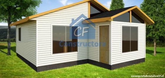 Modelo Casa 42m² con trompa