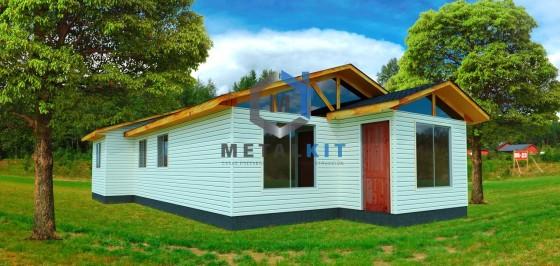 Casas Prefabricadas Metalcon Metalkit 72m2.