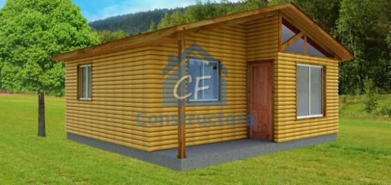 Modelo Casa 42m² con porch