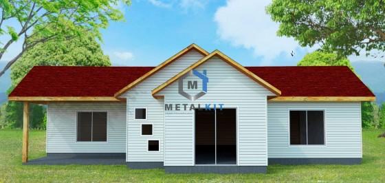 Casas Prefabricadas Metalcon Metalkit 96,7m2.