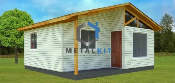 Casas Prefabricadas Metalcon Metalkit 36m2.