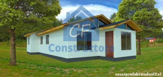 Modelo Casa 72m²