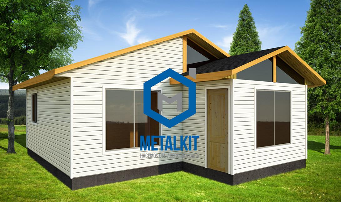 Cf casas prefabricadas casas modulares metalcom y madera - Techos modulares ...