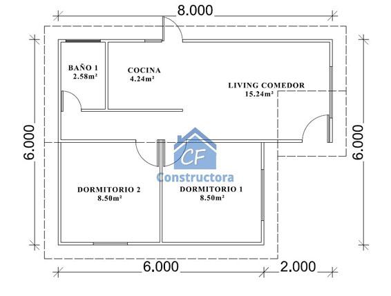 Casas Prefabricadas CF