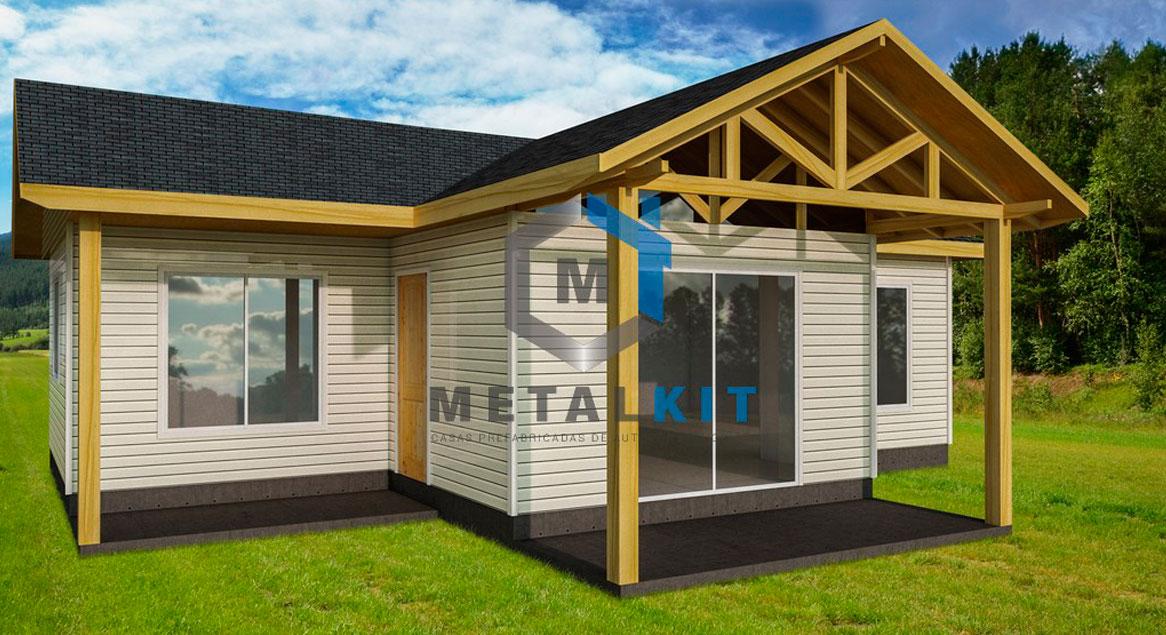 Cf Casas Prefabricadas Casas Modulares Metalcom Y Madera Con Planos